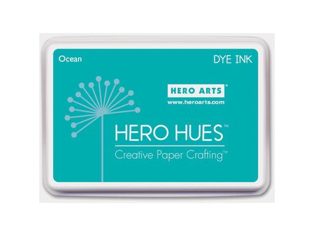Hero Hues Dye Ink Pad-Ocean