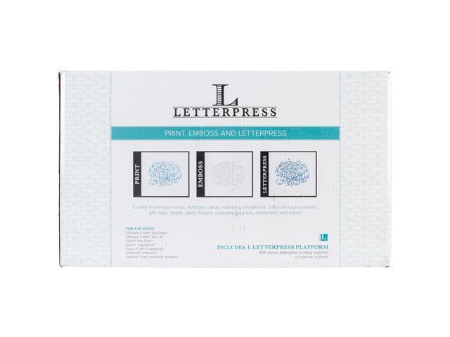 Lifestyle Letterpress Kit-