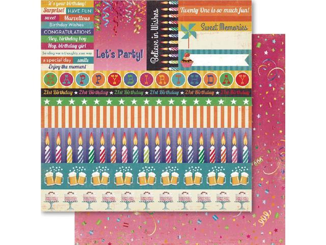 21st Double-Sided Cardstock 12