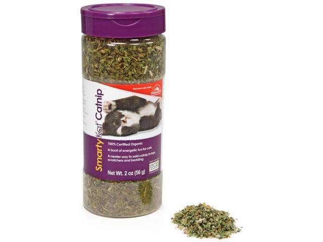 SmartyKat Certified Organic Catnip 2 Ounce Canister-