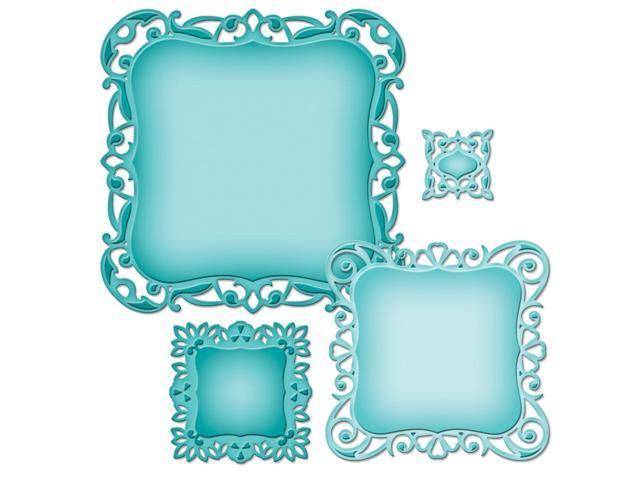 Spellbinders Nestabilities Decorative Elements Dies-Luscious Labels 1