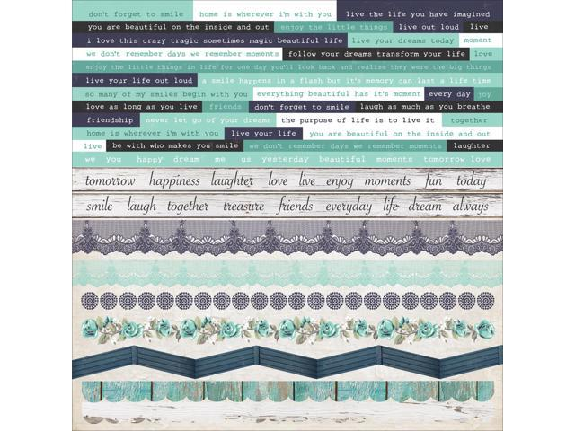 Blue Bay Cardstock Stickers 12