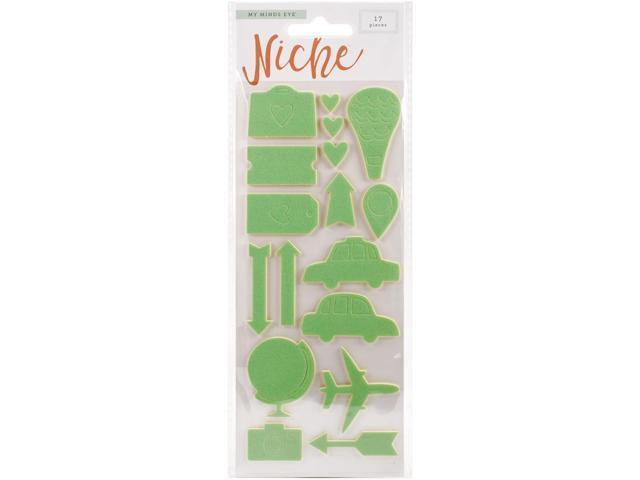 Niche Foam Stickers-Hello World