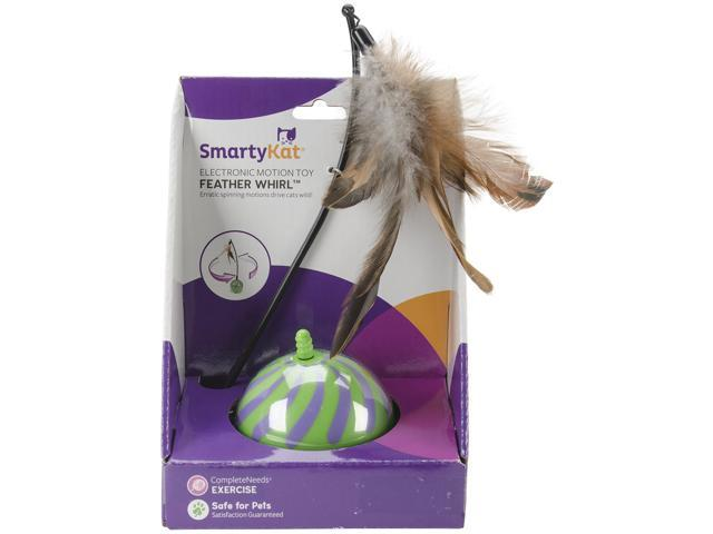 Smartykat Featherwhirl Electronic Motion Ball Toy-