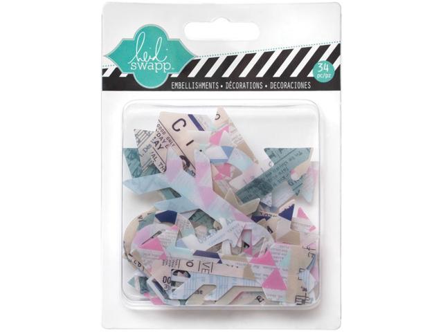 Hello Today Clear Pop Acrylic Embellishments-Arrows 34/Pkg