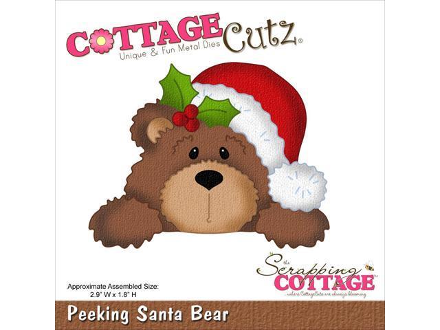 Cottagecutz Die-Santa Bear
