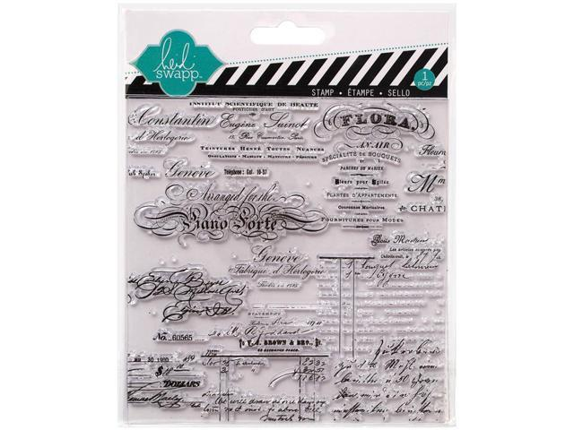 Heidi Swapp Mixed Media Clear Stamps 5.5