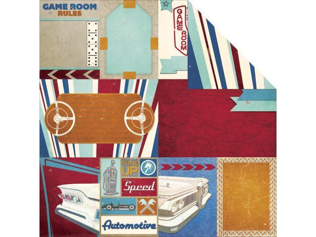 Wild Card Double-Sided Cardstock 12