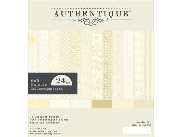 Authentique Bundle Cardstock Pad 6