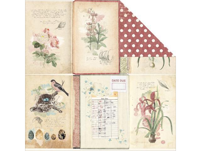 Garden Journal Double-Sided Cardstock 12