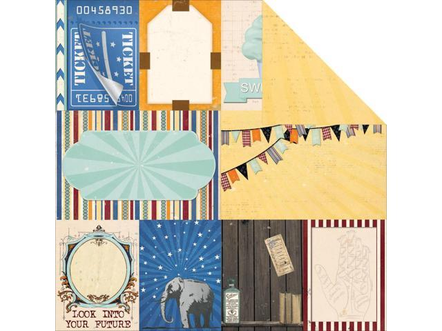 Carnival Double-Sided Cardstock 12