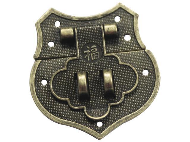 Brass Embellishments 10/Pkg-Shield Catch