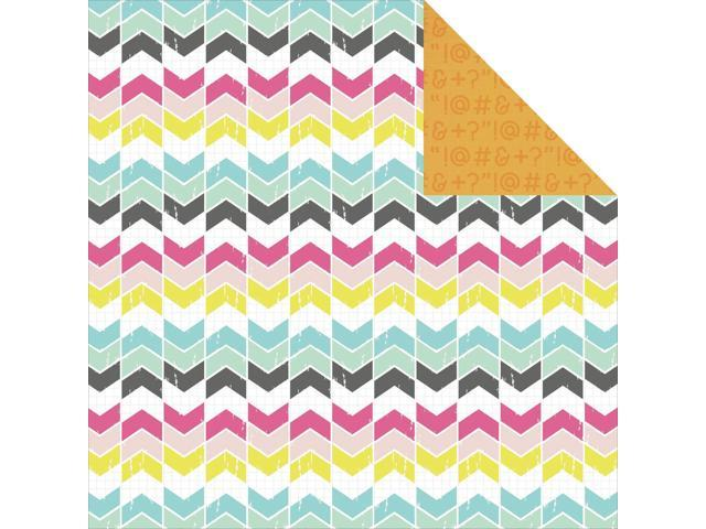 Happy Snaps Double-Sided Cardstock 12
