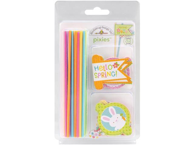 Springtime Pixes & Flags Assortment Pack-Hippity Hoppity