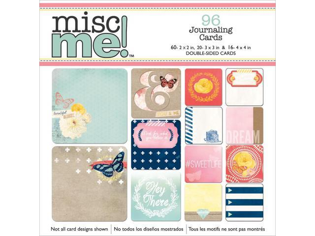 Misc Me Pocket Squares Journaling Cards 96/Pkg-Sweet Life