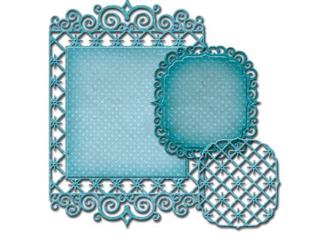 Spellbinders Nestabilities Decorative Elements Dies-Labels 47