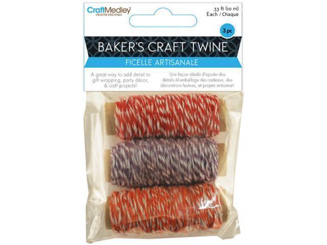 Baker's Twine 33' 3/Pkg-Sweet