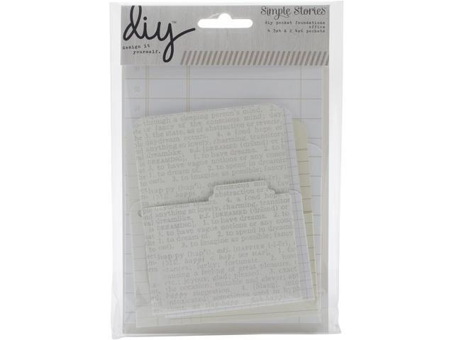Diy Foundations Pockets 6/Pkg-Office (2) 4