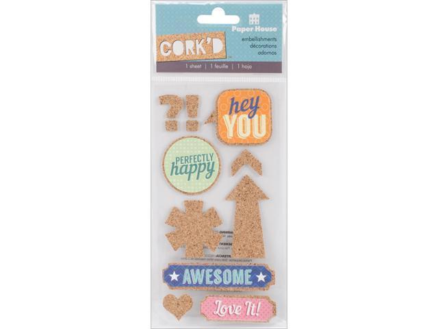 Cork'd Embellishments-Hey You