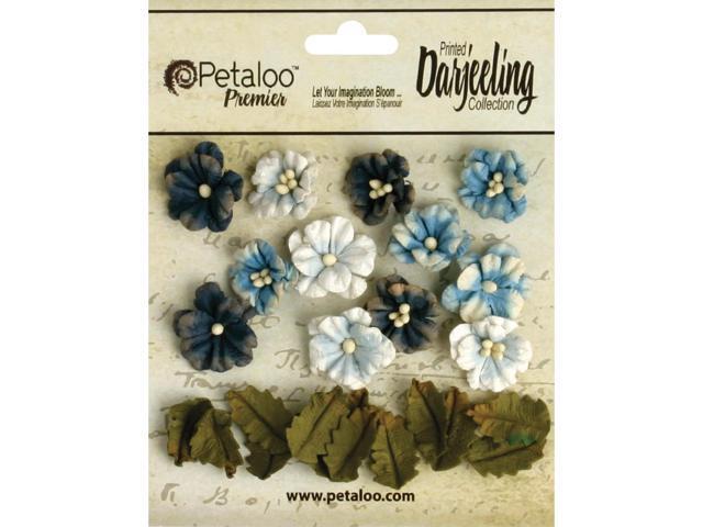 Darjeeling Teastained Petite Flowers .625