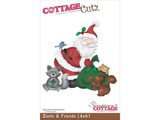 Cottagecutz Die-Santa & Friends