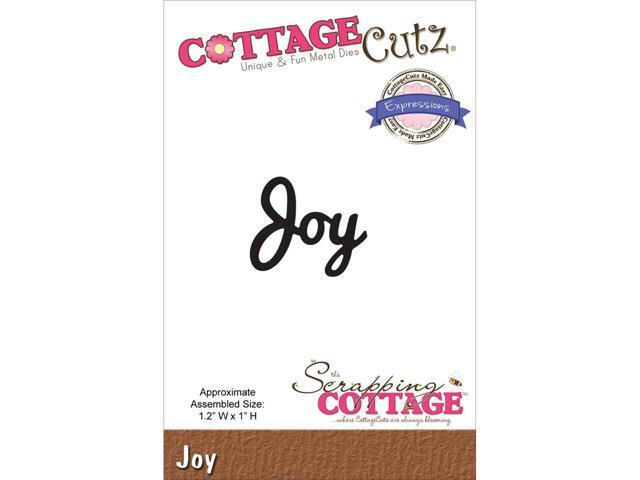 Cottagecutz Expressions Die-Joy