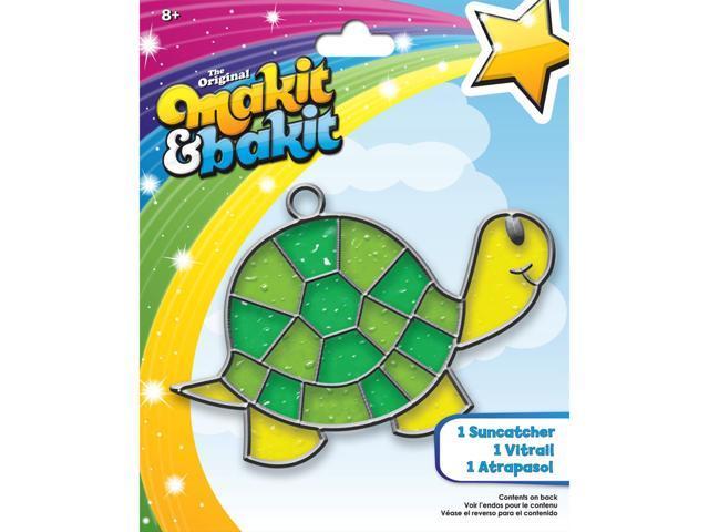 Makit & Bakit Suncatcher Kit-Turtle