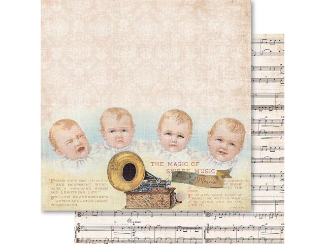 Baby Boy Double-Sided Cardstock 12