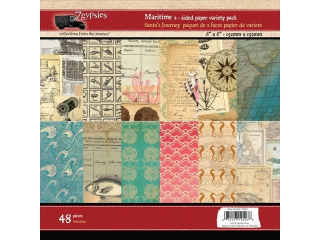 Maritime Double-Sided Paper Pad 6