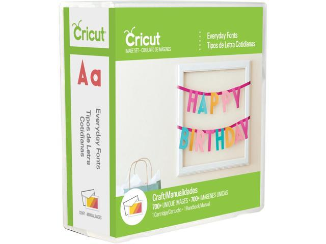 Cricut Font Cartridge-Everyday Font