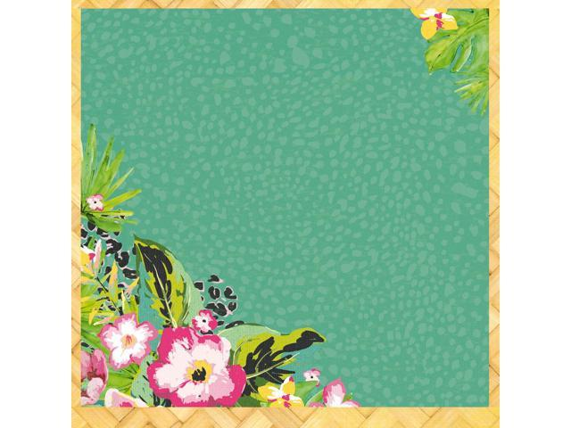 Say Aloha Spot Varnish Cardstock 12