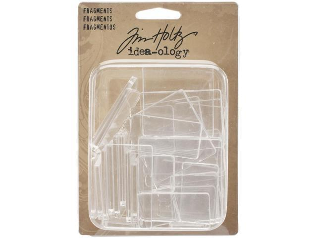 Idea-Ology Fragments Acrylic Rectangles & Squares 34/Pkg-.75