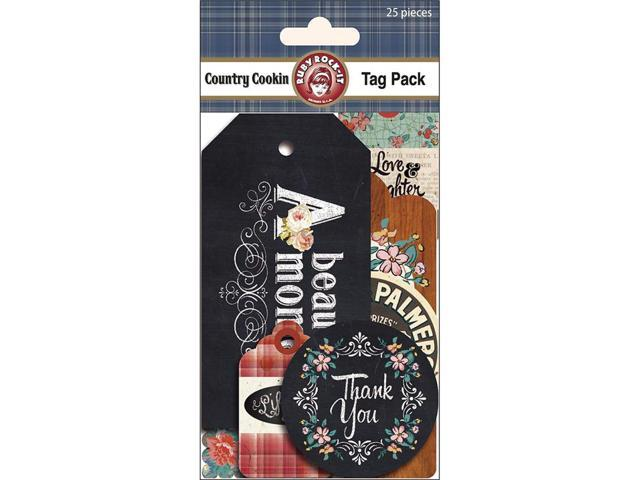 Country Cookin' Tags 25/Pkg-