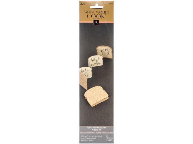 Sizzix Sizzlits Decorative Strip Die By Where Women Cook-Bread Album