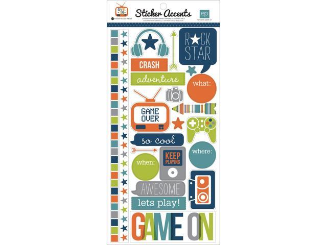 Game On Stickers 6
