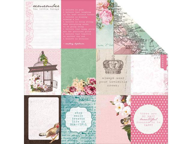Oh So Lovely Double-Sided Cardstock 12