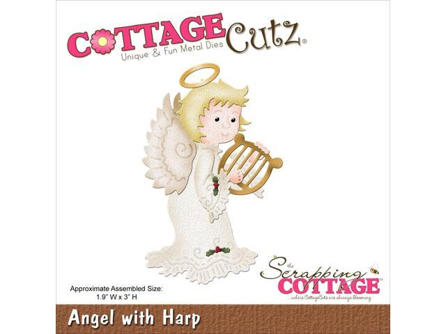Cottagecutz Die-Angel W/Harp