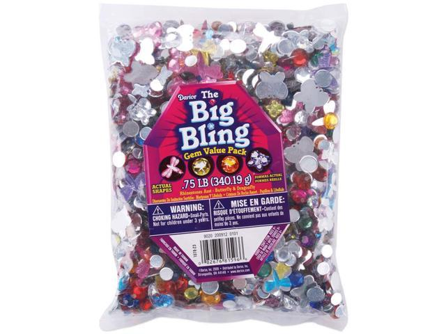 Rhinestone Shapes .75lb-Butterflies, Dragonflies & Round