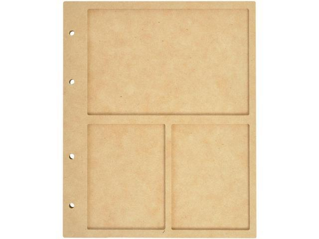 Beyond The Page Mdf 3 Window Display Album W/10 Pockets-6.75