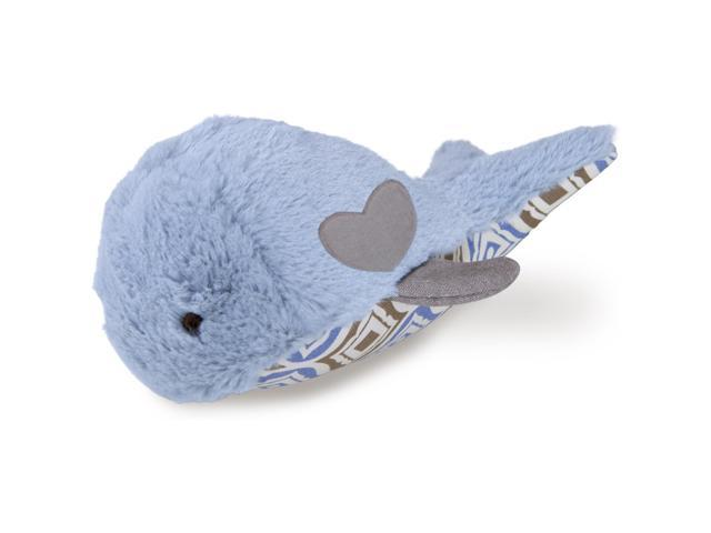 Loved Ones Durable Whale W/Treat Pocket Dog Toy-Blue