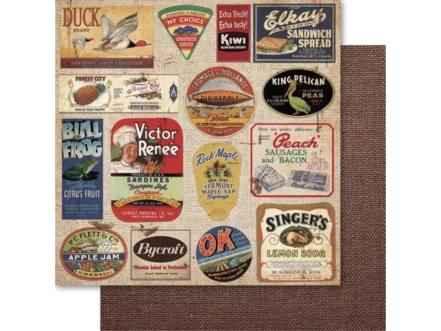 Country Cookin' Double-Sided Cardstock 12