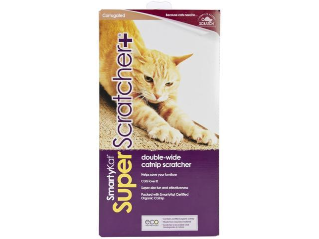 SmartyKat SuperScratcher+ Double Wide Catnip Scratcher-2