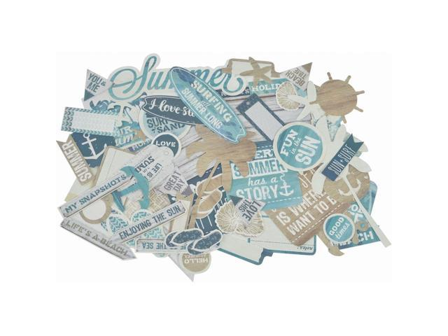Sandy Toes Collectables Cardstock Die-Cuts-