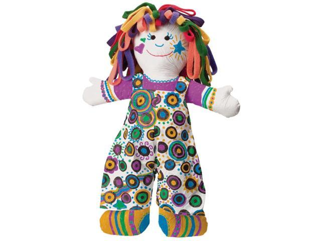 Alex Toys 152427 Color & Cuddle Washable Kit-Doll