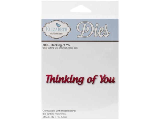 Elizabeth Craft Metal Die-Thinking Of You