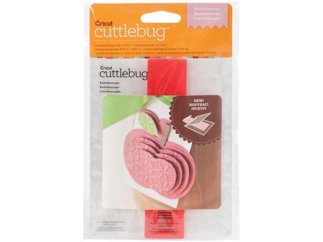 Cuttlebug A2 Embossing Folder/Border Set-Kaleidoscope
