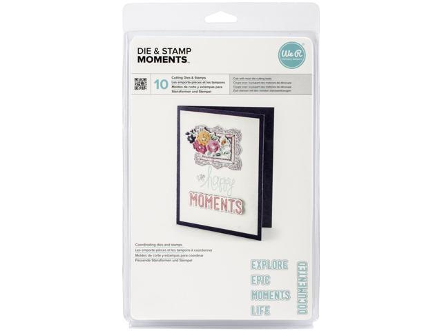 Lifestyle Dies & Stamps Set-Moments, 1.2