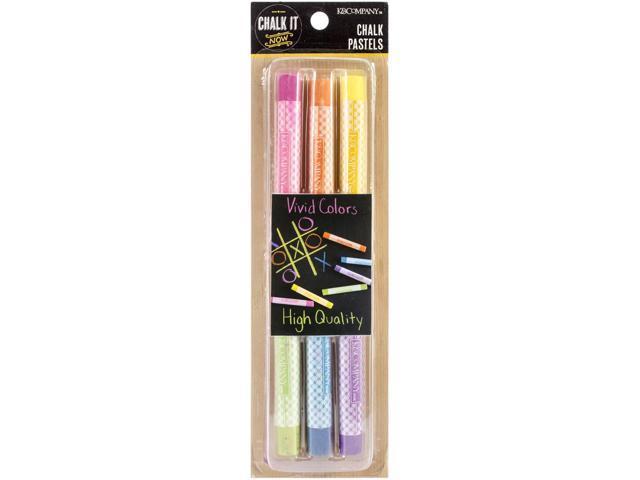 Chalk It Now Chalk Pastels-Colored