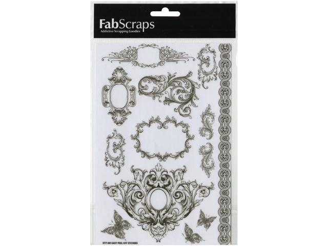 Elegant Chic Vinyl Stickers 8.25