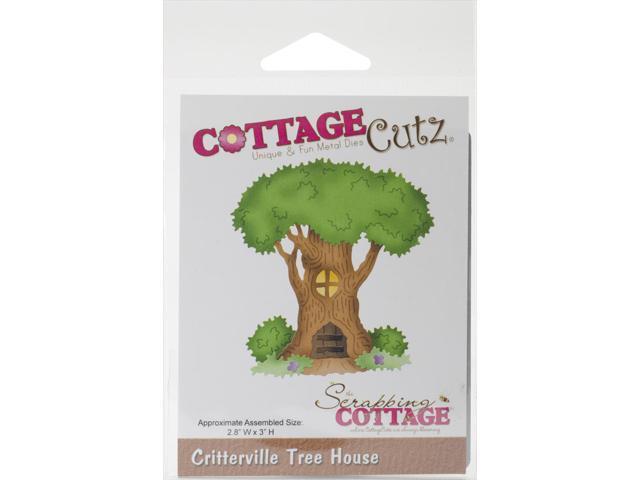 Cottagecutz Die-Critterville Tree House 2.8